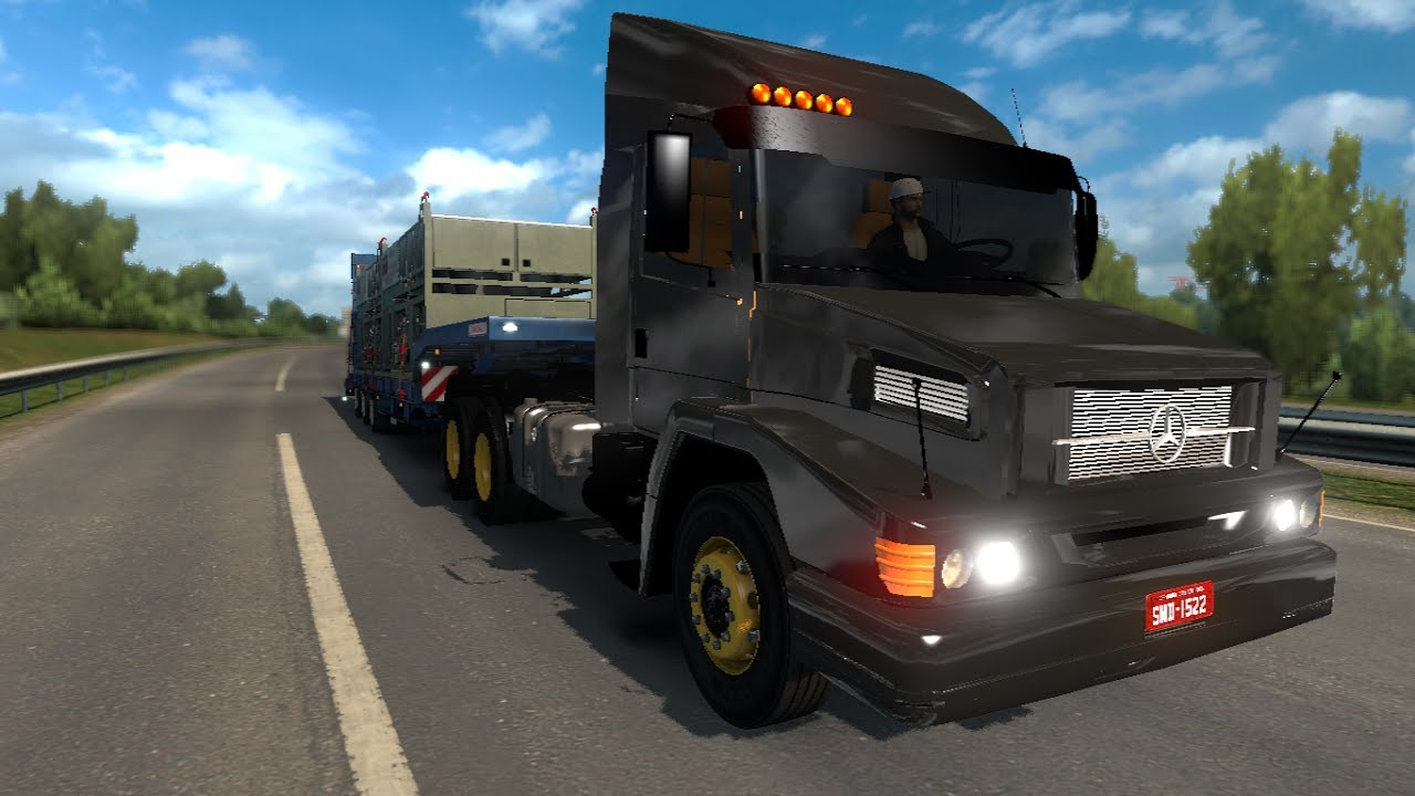 Euro Truck Simulator 2 Mods Mercedes Benz 2638 1 27 Youtube
