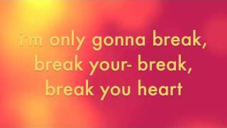Break Your Heart Taio Cruz w/ lyrics and download link