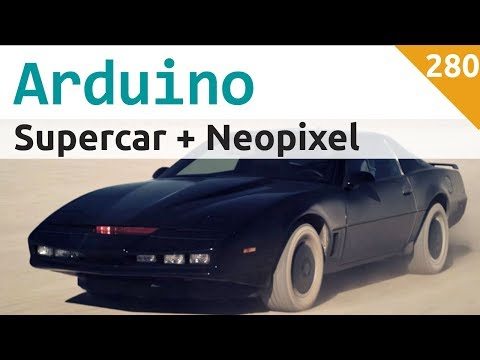 Supercar Con Arduino E Neopixel WS2812 - Video 280