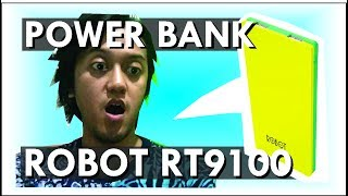 Power Bank Bagus Murah Robot RT9100 Unboxing & First Impression!