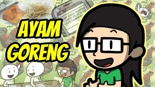 Ayam Goreng (Fried Chicken) [Eng Sub]
