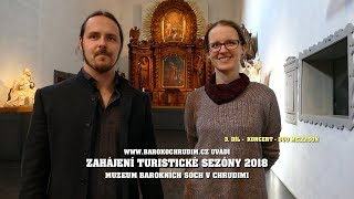 Muzeum barokních soch Chrudim - koncert Duo Mellison - 1.4.2018 - krátký sestřih