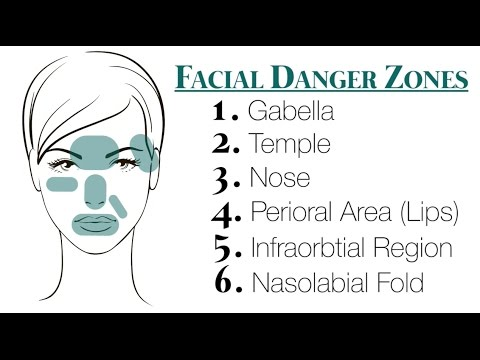 """Anatomy of the Facial Danger Zones"""" Video Discussion by Dr. Jean ..."""