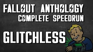 Fallout Anthology Glitchless in 3:29:55