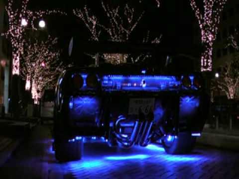 Lamborghini Diablo Sv Com Neon Em Freeway Japonesa Mp4