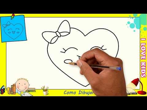 Dibujos De Corazones Faciles Para Ninos Como Dibujar Un Corazon