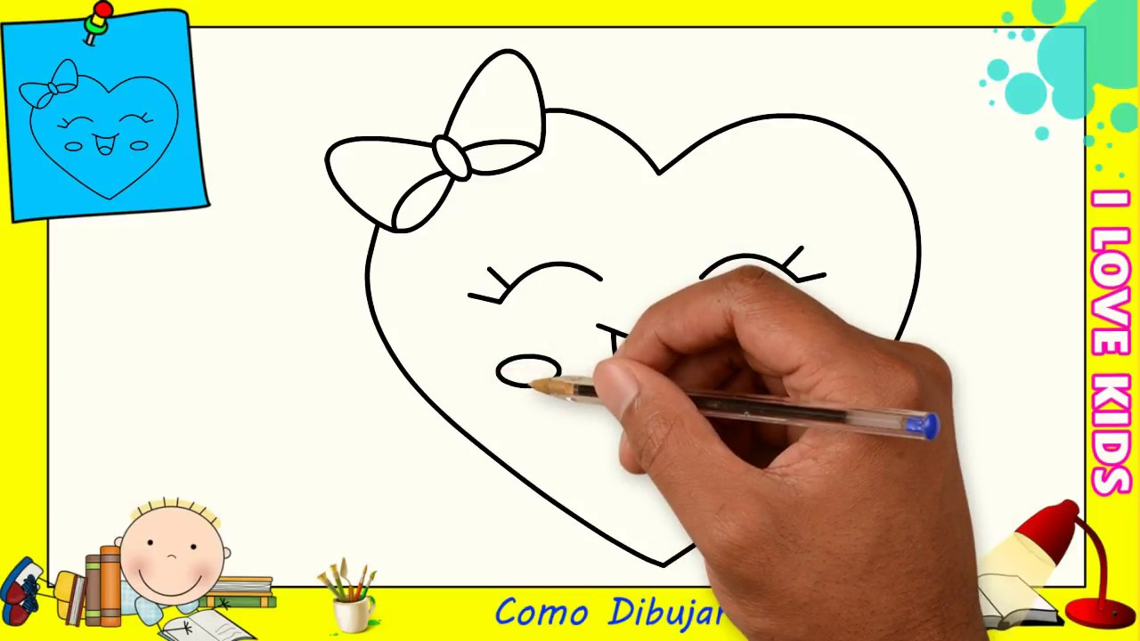 Dibujos De Corazones Para Colorear Para Ninos