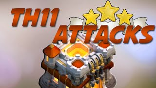 Clash Of Clans | TH11 3 STAR MASS WITCH GUIDE VS OPEN RING LAYOUTS (STRATEGY KEYS)