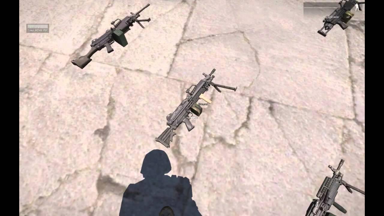 ArmA3: STI Weapons - Machineguns