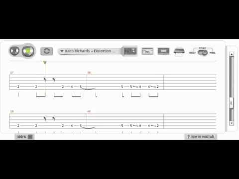 The Rolling Stones  Satisfaction Guitar Tab