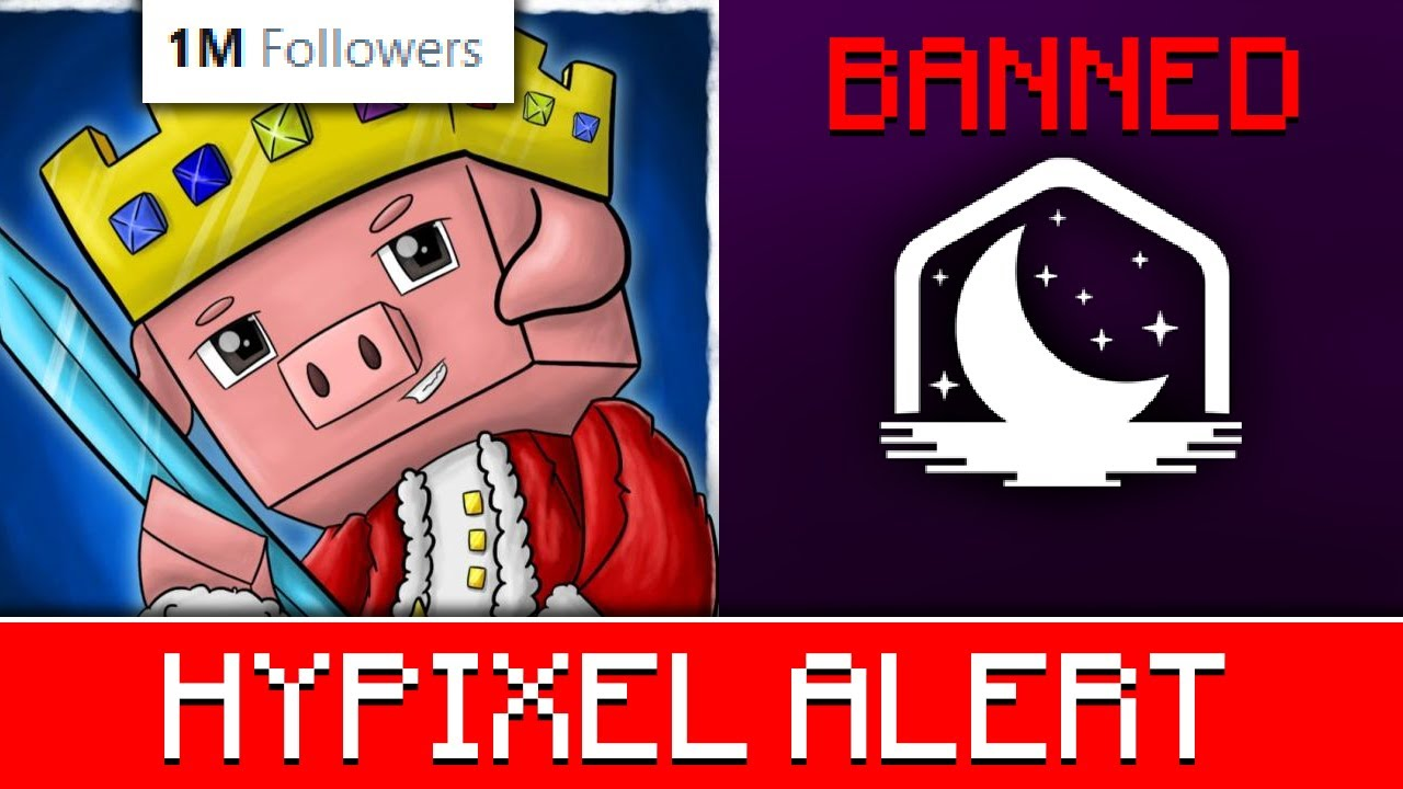 Technoblade Hits 1 MILLION Followers! #HypixelAlert Lunar Client BANNED! Removal of 1.9, 1.10