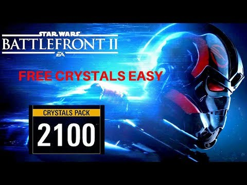 Star Wars Battlefront II EASTER EGG Free Quick Crystals ALMOST 3000 CRYSTALS