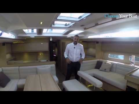 Dufour Yacht 560 Grand Large Guided Tour Video English