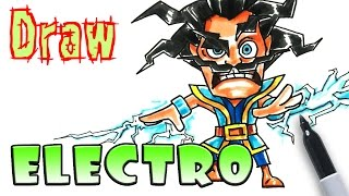 How to Draw Electro - Clash Royale - Coloring Pages