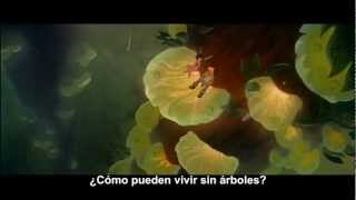 FernGully, the last rainforest (1992). Trailer. Subtitulado al español.