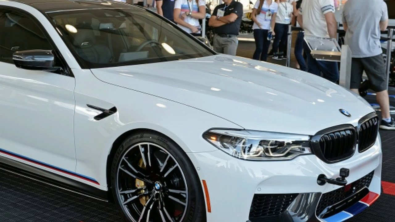 2018 bmw m5 gets invited to sema thanks to new m performance parts