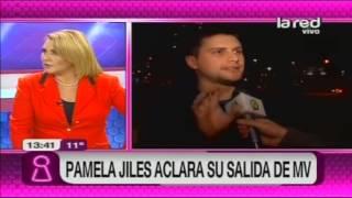 Pamela Jiles habla de su salida de Mentiras Verdaderas