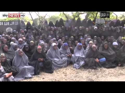Islamic terrorist group Boko Haram video claims to show schoolgirls