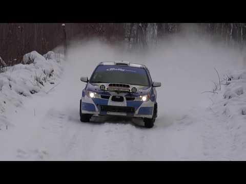 Sno Drift 2017 Michigan Rally Racing Rally America SCCA