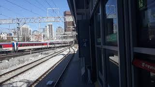 [철도]수도권전철 경의중앙선 문산급행 서울역 접근(동해…