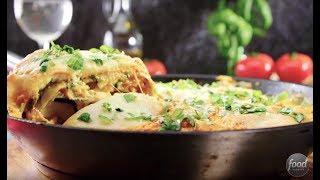 Warzywna lasagna z serem ricotta - nie będziesz mógł się jej oprzeć!