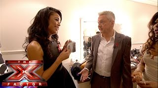 Another trip to Louis' dressing room | The X Factor UK 2014