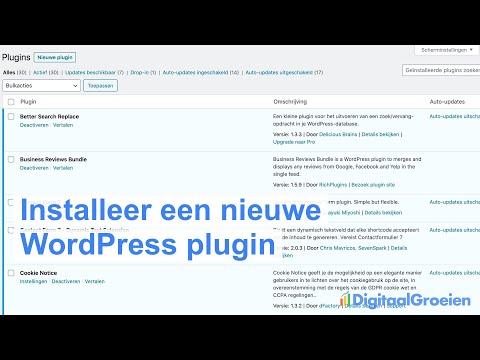 Yoast SEO WordPress installeren