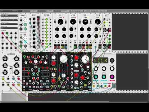 VCV Rack V0.5 demo