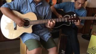 Test em Guitar Hồng Đào Hd2c - giá chỉ 1tr5