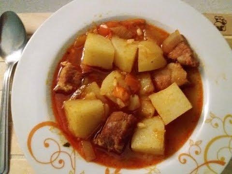 MEMORIES OF MACEDONIA ~ KOMPIR MANDZA (Macedonian Potato Stew)
