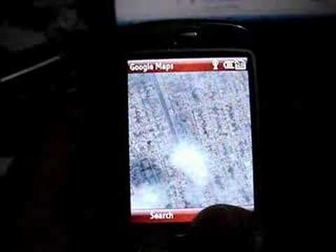 HTC S710 and Google Maps