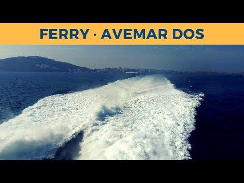 Passage ferry AVEMAR DOS, Ceuta - Algeciras (Baleària)