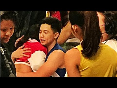 Alden Richards Comforts Ryzza Mae Eat Bulaga July 22 2017 #ALDUBTeamAllOut