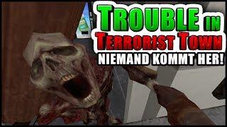 Verbarrikadiert! | Trouble in Terrorist Town! - TTT | Zombey