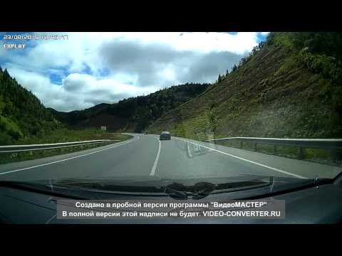 Авария на спуске с холмского перевала 23 08 2015