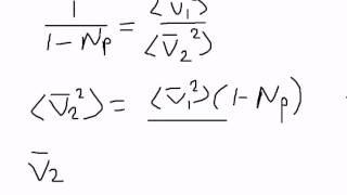 ЕГЭ физика С3. Скорость молекул