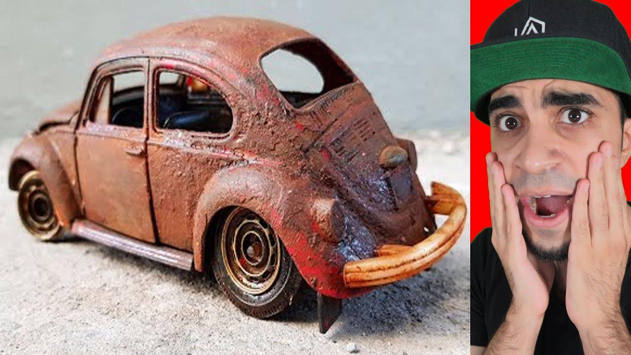 اعادة صنع سيارة من 50 سنة !!!