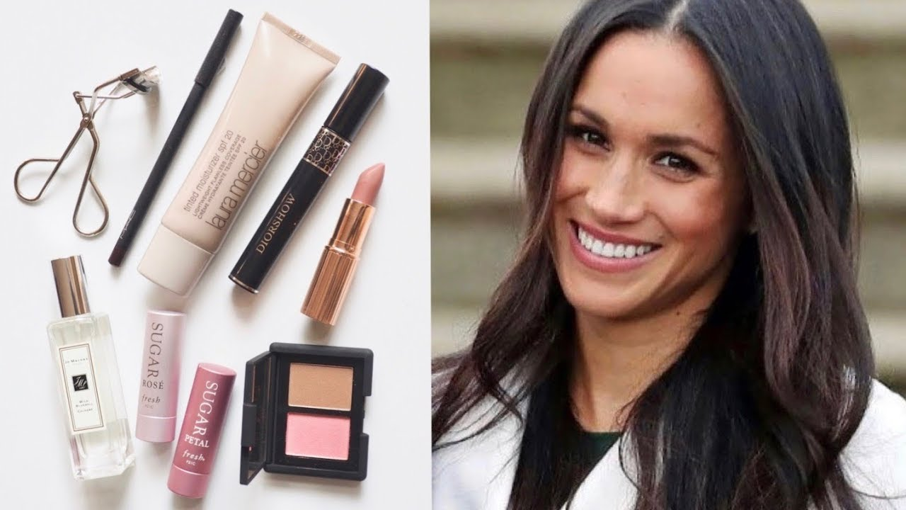 Meghan Markle Makeup Bag  Her Favourite Beauty Products