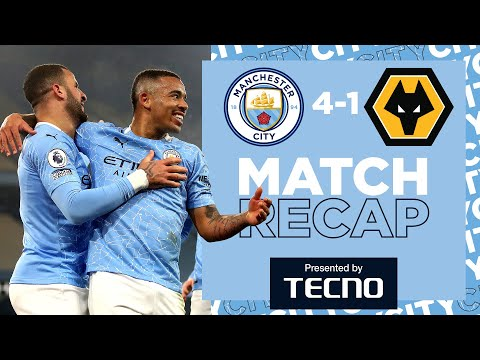 MAHREZ MAGIC & JESUS DOUBLE | MATCH RECAP | CITY 4-1 WOLVES