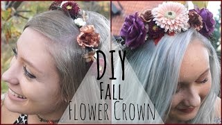 DIY ✧ Fall/Autumn Flower Crown Thumbnail