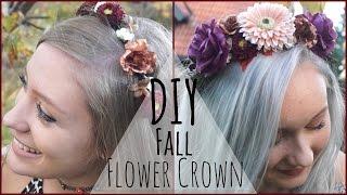 DIY ✧ Fall/Autumn Flower Crown Thumbnail