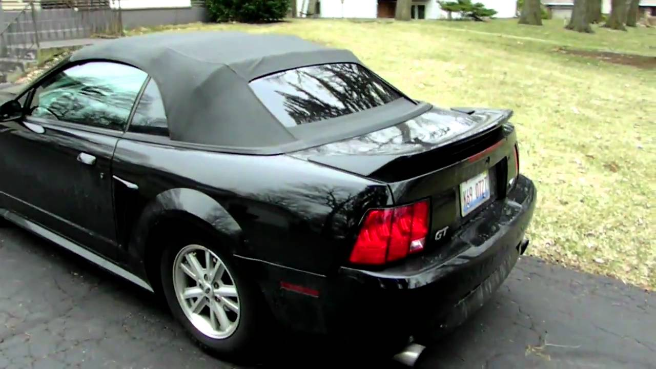 My 2000 mustang gt convertible youtube