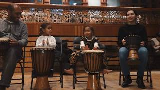 DEMBIS THIOUNG presents 4th Dundun Drum and Dance workshop with Landing Mane