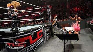 Natalya viciously sends Liv Morgan crashing through a table: WWE TLC 2018 (WWE Network Exclusive)