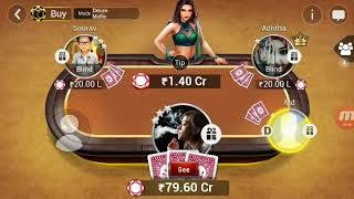 play blind and win 100 cr pot in muflis by 254
