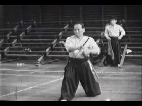 Rare Footage  Haga Junichi, Genius Swordsman of Showa Period Kendo mp4