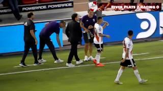 GOL DE QUINTERO DESDE LA TRIBUNA + FIESTA / River Plate vs Racing / Superliga 2019