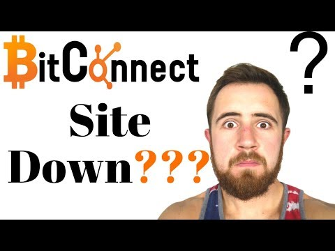 Bitconnect Site Down || The Reality Of Crypto & Trading Risk