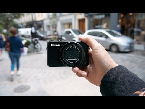 Shooting Only On a Point and Shoot | CANON G7X