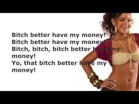 Слушать песню Rihanna - bich better have my.money deep